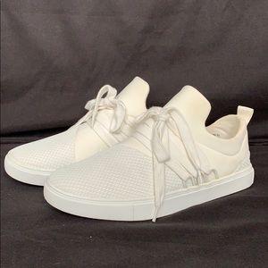 Brash white sneakers
